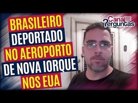 Brasileiro deportado no