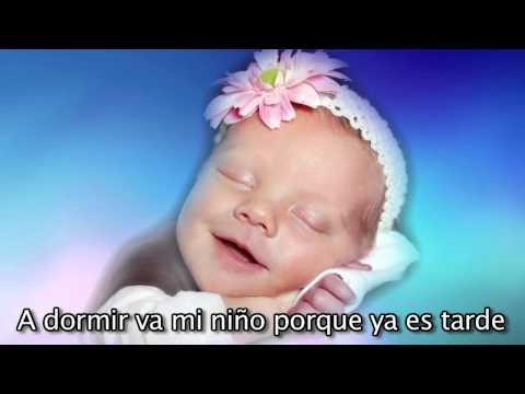 Ea la nana - Cancion de Cuna para bebes con letra - relajar - calmar - arrullar - Mozart #