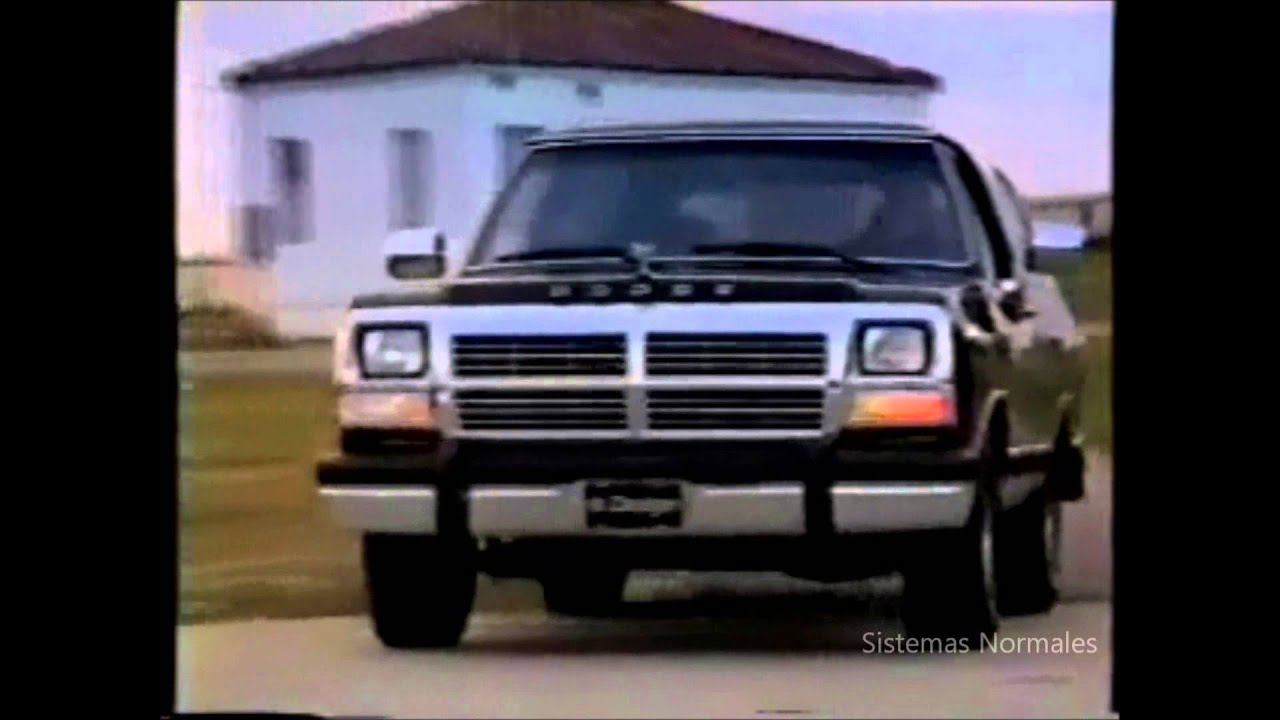 Ford Shelby Truck >> Dodge Ram Charger 1990 - 1995 Promo México 2 - YouTube