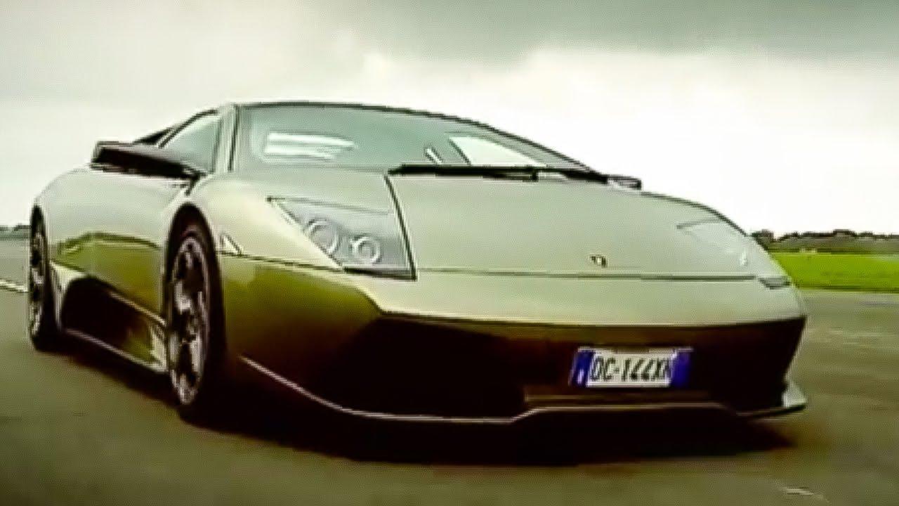 Jeremy The Stig Test The Lamborghini Murcielago Top Gear Youtube