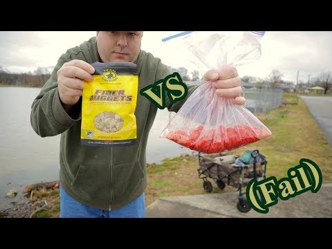 Fiber Bait Vs Strawberry Jello Hotdogs | #FAIL ???