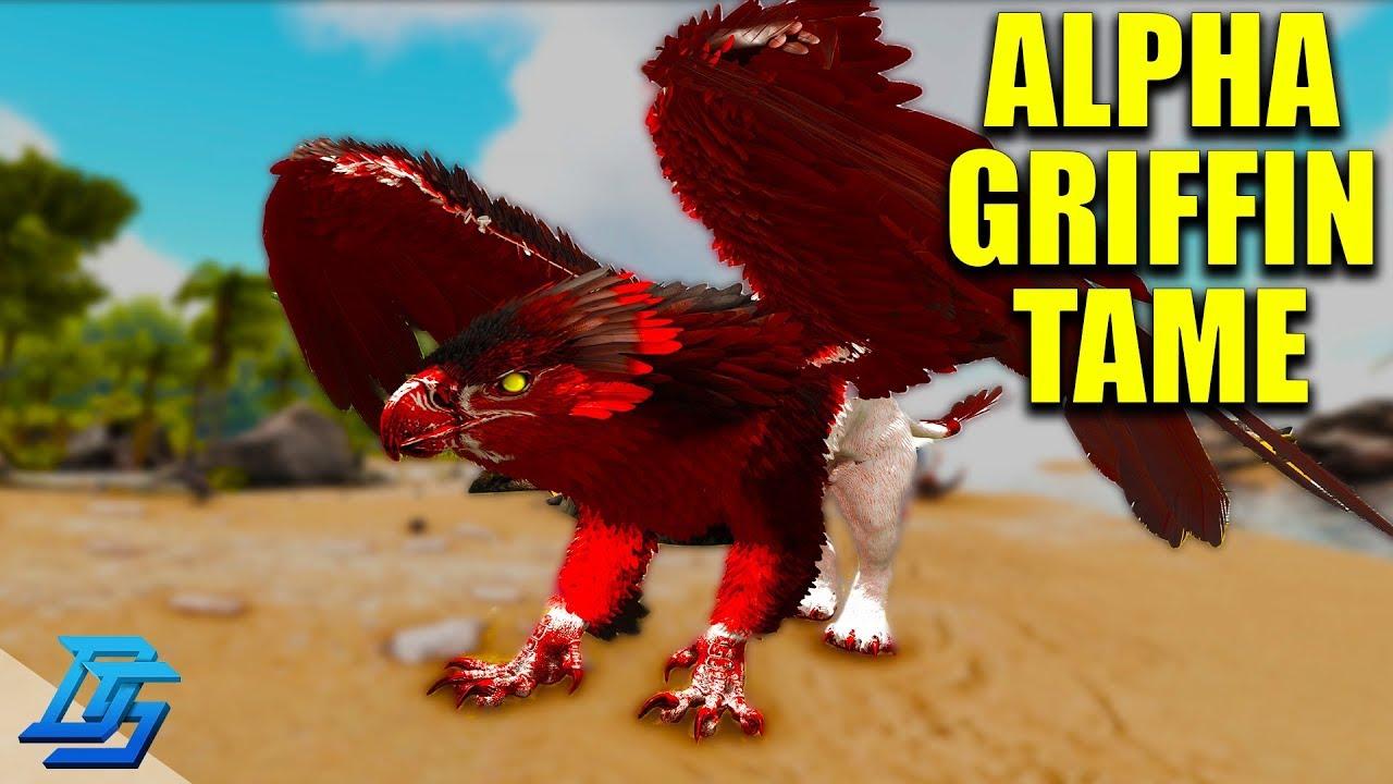 ALPHA GRIFFIN TAME       OH NO!- ARK PRIMAL FEAR! - Ark Survival Evolved  Modded - Lets Play -Pt 7 by DemoStorm
