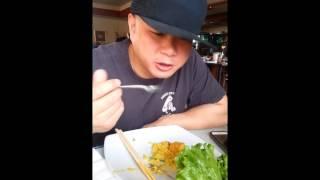 Food Porn - Thai Food Vegetarian Tofu Pinapple Fried Rice