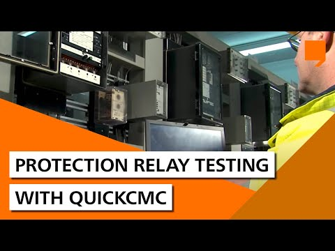 Protection relay testing with QuickCMC - YouTube