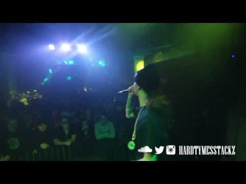 Stackz Live Performance Grand Central Miami Opening For Currensy