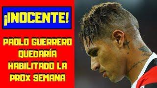 Paolo Guerrero ¡FELIZ! 🔴  PODRÍA JUGAR LA PRÓXIMA SEMANA ⚽ ¡APOYEMOS! al  Capitán
