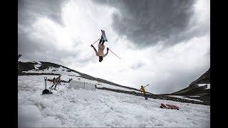 Colorado Year Round Skiing 2018-2019! Backcountry Breck Abasin Powder Naked Skiing Flips and More!