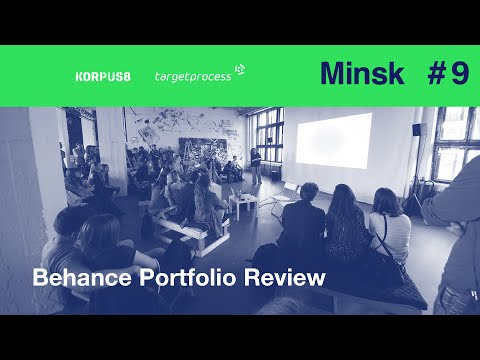 Minsk Behance Portfolio Review - 9