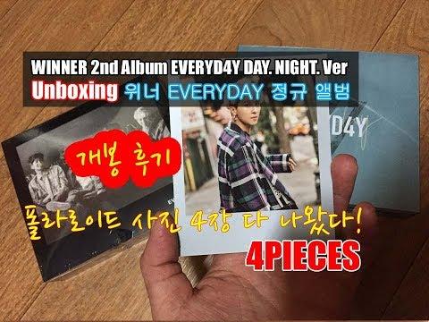 Unboxing 4 Album Baru Winner EVERYD4Y / EVERYDAY