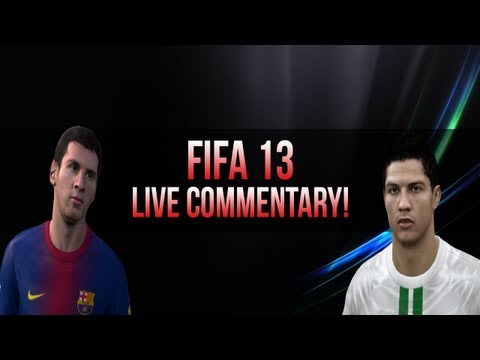 FIFA 13 Ultimate Team Live Commentary #1 (FIFA 13 Gameplay/Commentary)