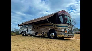 1988 COUNTRY COACH PREVOST XL40 WITH A DETROIT 8V92 V8 TURBO DIESEL SOLD!