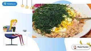 Салат намазка с тунцом для бутербродов Пошаговый рецепт