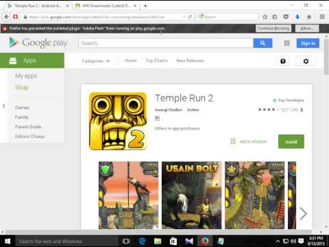 How To Download Play Store Apps Directly To Pc