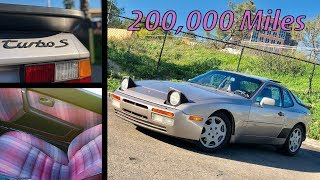 200,000 Miles in a Porsche 944 Turbo S: the Good, the Bad, the Ugly