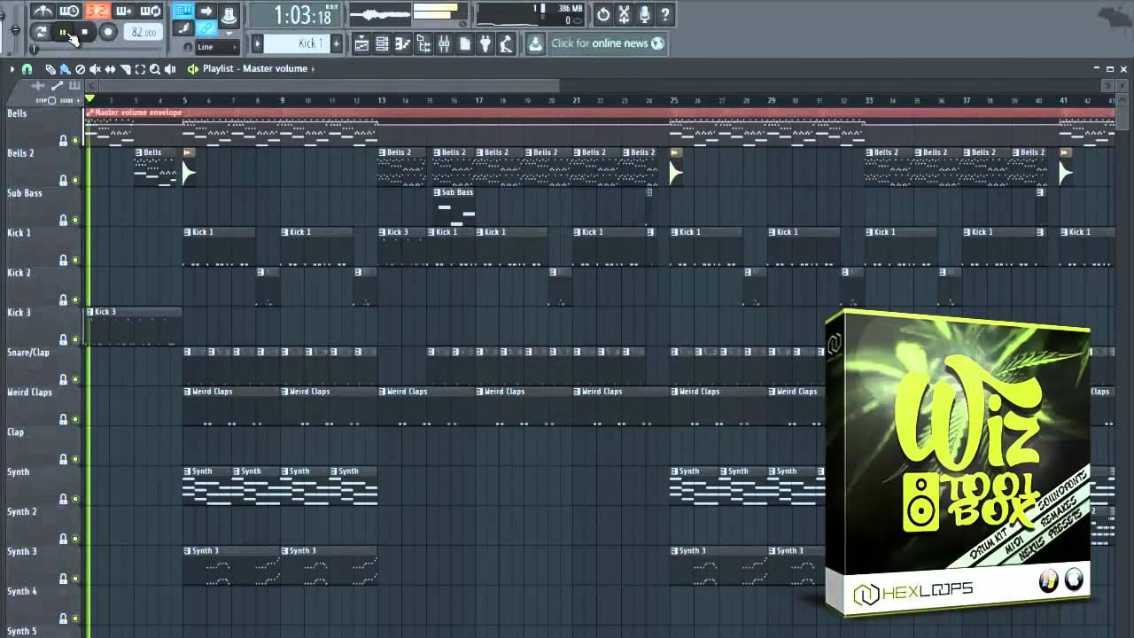 wiz khalifa drum kit free download