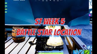 Semana 5 secreto Battle Star localização-7 ª temporada-Fortnite
