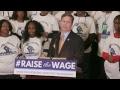 Led by Bernie Sanders, Democrats Introduce $15 Minimum Wage Bill