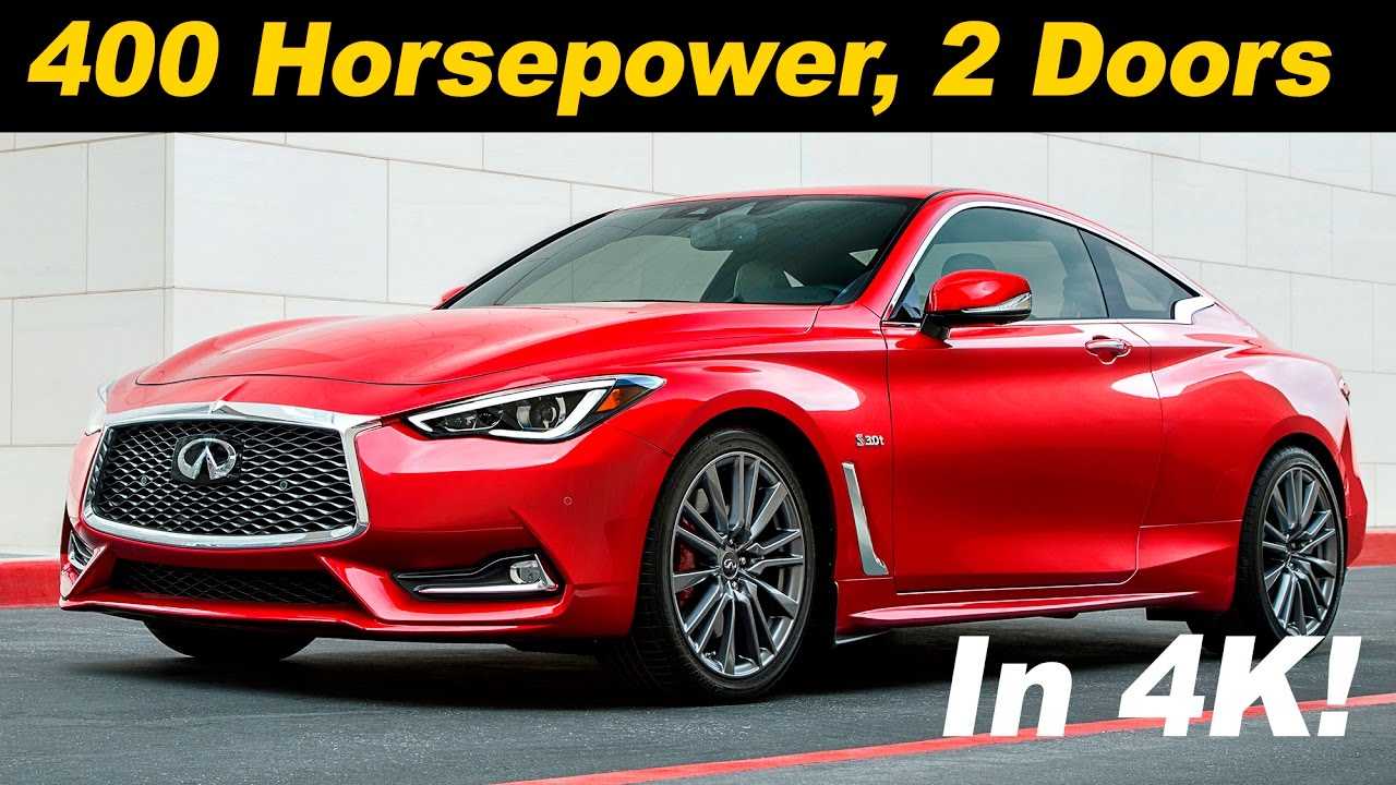 Good 2017 Infiniti Q60 / Q60 Red Sport First Drive Review   DETAILED In 4K UHD!    YouTube
