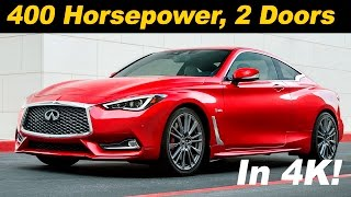 2017 infiniti q60 q60 red sport first drive review detailed in 4k uhd