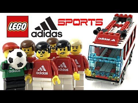 Rare LEGO Adidas Football Team Transport review! 2002 set 3426!