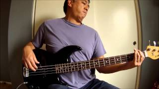 """Barely Breathing Acoustic"" (Duncan Sheik) Bass Cover"