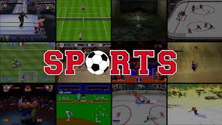 SPORTS GENRE INTRO VIDEO - ANIMATED - CONSOLES