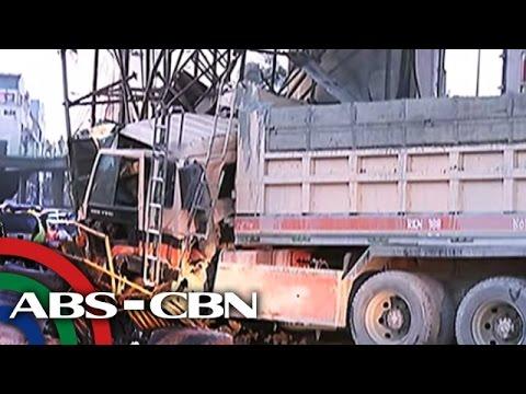 TV Patrol: Truck sumalpok sa poste ng LRT; 1 patay