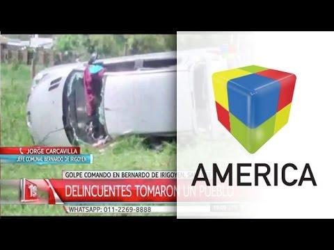 Una banda copó el pueblo de Bernardo de Irigoyen y se llevó casi 270 mil pesos