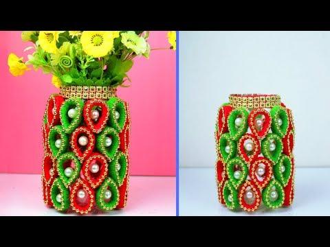 DIY Flower Vase Ideas | Wonderful Ways to Decorate Your Home with Flower Vase