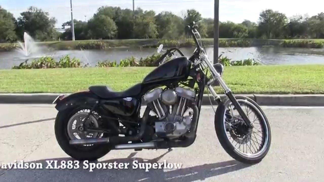 Used 2005 Harley Davidson Custom Sportster 883 for sale in - YouTube