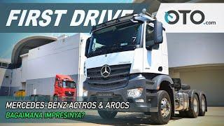 Mercedes Benz Actros Arocs First Drive Berapa Harganya Oto Com Youtube