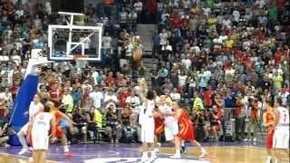 Srbija - Crna Gora 18-08-2012 poslednji minuti - trojka