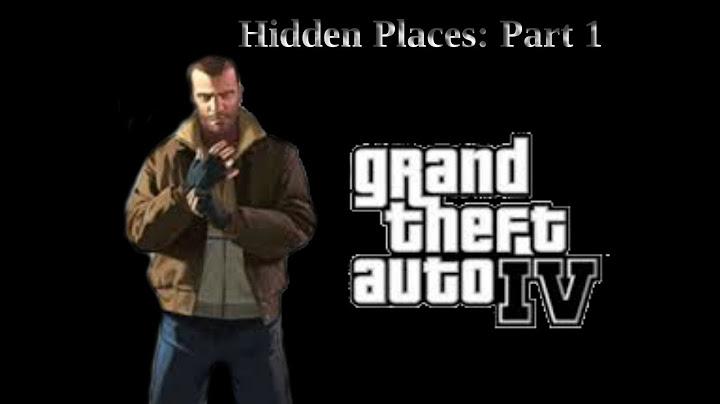 gta iv  hidden places