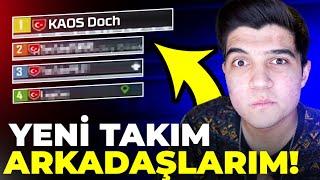 YENİ TAKIM ARKADAŞLARIMLA İLK WİN!! | PUBG Mobile