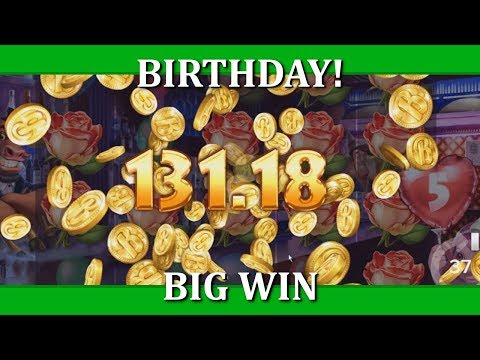 BIG WIN - BIRTHDAY! - NEW ELK SLOT!!!!