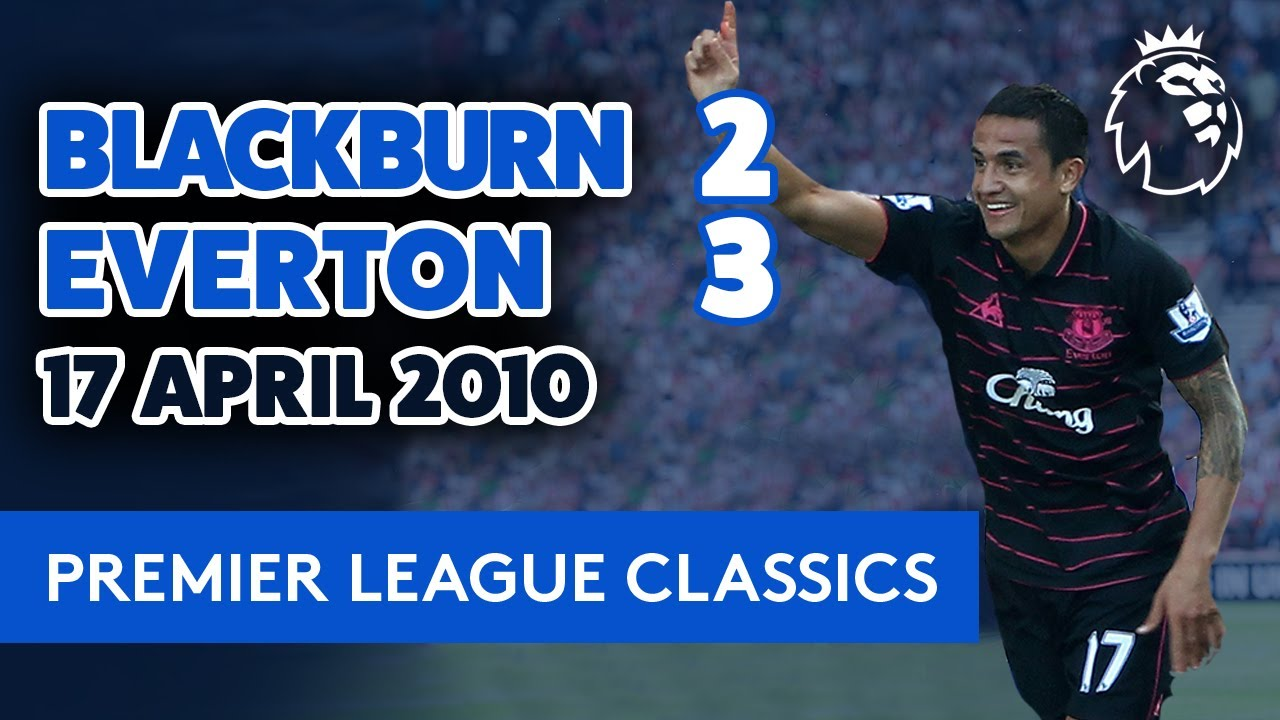 TIM CAHILL SEALS LAST-MINUTE WIN! | BLACKBURN 2-3 EVERTON: 17 APRIL 2010