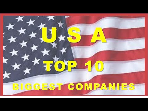 USA's Top 10 Biggest companies