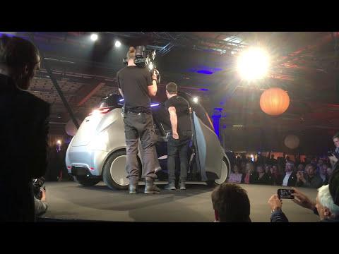 U17 event - Uniti car revealing moment