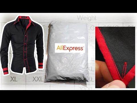 РУБАШКА С ДЛИННЫМ РУКАВОМ С АЛИЭКСПРЕСС - Одежда с Aliexpress SkyVlad Влог