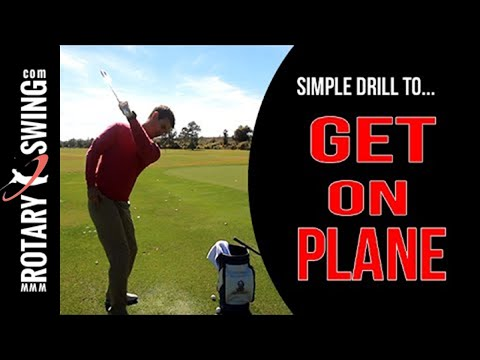 How To Fix Your Golf Swing Plane | Simple Drill