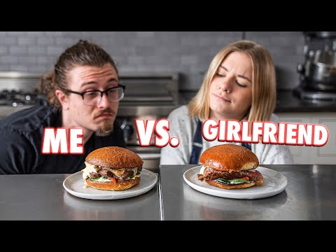 Cooking Challenge Against My Girlfriend Who Doesn't Cook