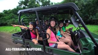 Kualoa Ranch & Private Nature Reserve Zipline, ATV, Horse, Jeep and Boat Tours