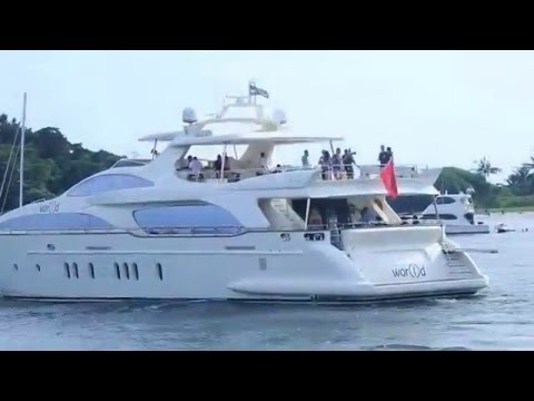 World Lifestyle Day in Singapore   MILLIONAIRES CLUB aboard the World Yacht   YouTube 720p
