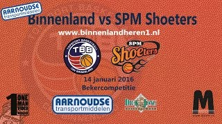 Binnenland Heren 1 vs SPM Shoeters