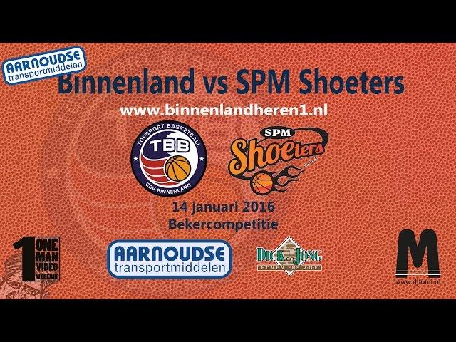 Binnenland Heren 1 vs SPM Shoeters