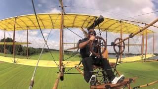 Curtiss Pusher Test Flight