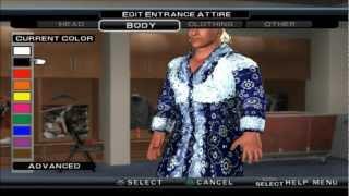 SVR 11 RIC FLAIR CAW FORMULA PS2 HD