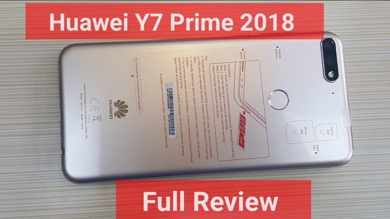 Huawei Y7 prime quick Unboxing   Y7 prime 2018 Gold Urdu/Hindi