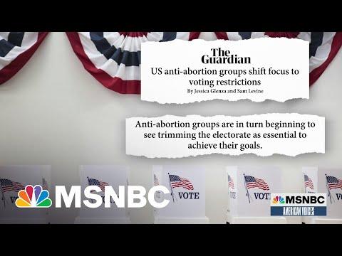 Anti-Abortion Movement Embraces Donald Trump's 'Big Lie'