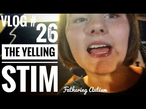 Autistic Yelling Stim | Homecoming | Ugly Fish| Fathering Autism Vlog #26